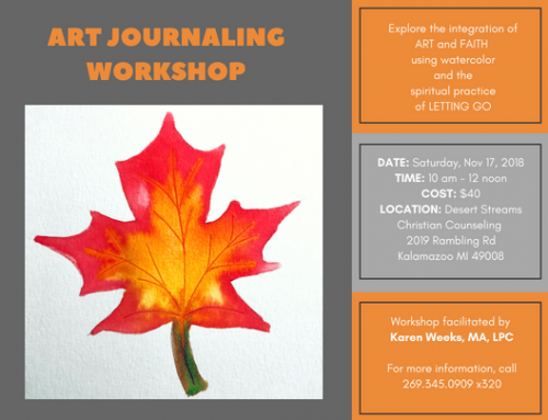 New Art Journaling Workshop