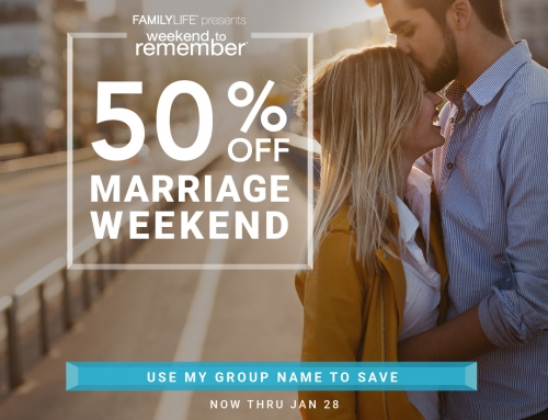 Register Now for Couples Weekend and Save!