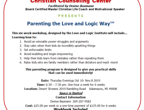 Parenting the Love and Logic Way Fall 2019