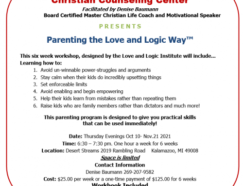 Parenting the Love and Logic Way Fall 2021
